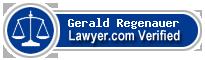 Gerald Joseph Regenauer  Lawyer Badge