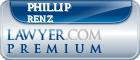 Phillip Alfred Renz  Lawyer Badge