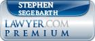 Stephen August Segebarth  Lawyer Badge
