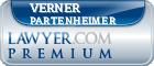 Verner Phillip Partenheimer  Lawyer Badge