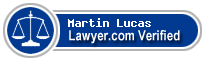 Martin Robert Lucas  Lawyer Badge