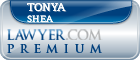 Tonya Sue Shea  Lawyer Badge