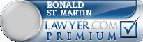 Ronald Francis St. Martin  Lawyer Badge