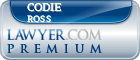 Codie James Ross  Lawyer Badge