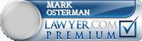 Mark David Osterman  Lawyer Badge