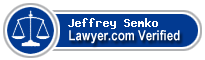 Jeffrey Charles Semko  Lawyer Badge