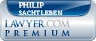 Philip James Sachtleben  Lawyer Badge