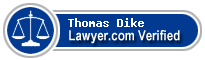 Thomas Arthur Dike  Lawyer Badge