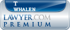 T Murry Whalen  Lawyer Badge
