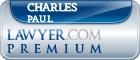 Charles Francis H Paul  Lawyer Badge