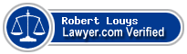 Robert X Louys  Lawyer Badge