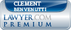 Clement Stephen Benvenutti  Lawyer Badge