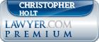 Christopher G Holt  Lawyer Badge