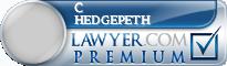 C Grant Hedgepeth  Lawyer Badge