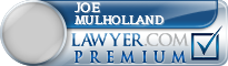 Joe H Mulholland  Lawyer Badge