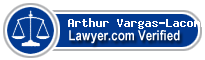 Arthur E. Vargas-Lacombe  Lawyer Badge