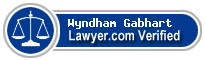 Wyndham Gabhart  Lawyer Badge