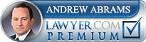 Andrew Colin Abrams  Lawyer Badge