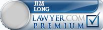 Jim Ray Long  Lawyer Badge