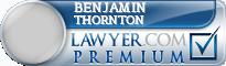 Benjamin Dodd Thornton  Lawyer Badge
