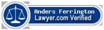 Anders Ferrington  Lawyer Badge
