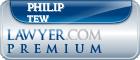 Philip Tew  Lawyer Badge