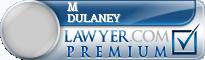 M Lee Dulaney  Lawyer Badge