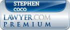 Stephen P Coco  Lawyer Badge