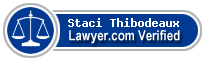 Staci Reeves Thibodeaux  Lawyer Badge
