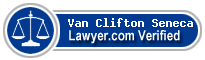 Van Clifton Seneca  Lawyer Badge