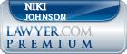 Niki Lynn Johnson  Lawyer Badge