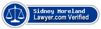 Sidney S Moreland  Lawyer Badge