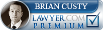 Brian Nicholas Custy  Lawyer Badge