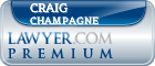 Craig Allen Champagne  Lawyer Badge