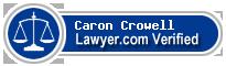 Caron Crowell  Lawyer Badge