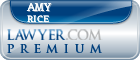 Amy G. Rice  Lawyer Badge