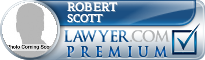 Robert A. Scott  Lawyer Badge