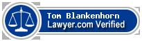 Tom Blankenhorn  Lawyer Badge