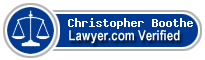 Christopher Lee Boothe  Lawyer Badge