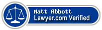 Matt Abbott  Lawyer Badge