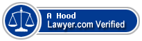 A Dwight Hood  Lawyer Badge