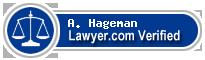 A. Joe Hageman  Lawyer Badge