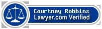 Courtney Laine Robbins  Lawyer Badge