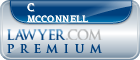 C Stokes Mcconnell  Lawyer Badge