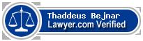 Thaddeus P. Bejnar  Lawyer Badge