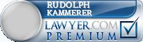 Rudolph M. Kammerer  Lawyer Badge
