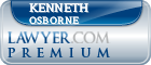 Kenneth Lee Osborne  Lawyer Badge