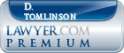 D. Neal Tomlinson  Lawyer Badge