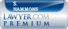 S. Paul Hammons  Lawyer Badge