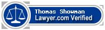 Thomas Ryan Showman  Lawyer Badge